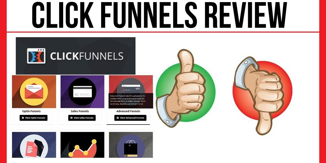 Clickfunnels Pricing Review – Everything You Need To Know About ClickFunnels